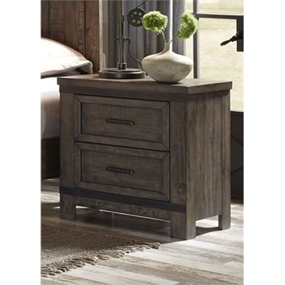 Liberty Furniture Thornwood Hills Night Stand - Item Number: 759-BR61