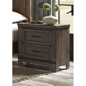 Liberty Furniture Thornwood Hills Night Stand