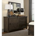 Liberty Furniture Thornwood Hills Dresser and Mirror - Item Number: 759-YBR-DM