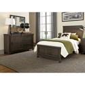 Vendor 5349 Thornwood Hills Full Bedroom Group - Item Number: 759-YBR-FPBDM