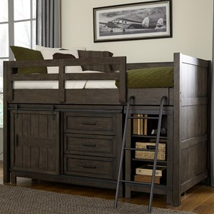 Liberty Furniture Thornwood Hills Twin Loft Bed