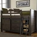 Liberty Furniture Thornwood Hills Twin Loft Bed - Item Number: 759-YBR-TLF