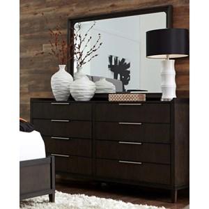 Liberty Furniture Tivoli 6 Drawer Dresser & Mirror