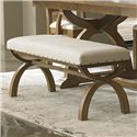 Liberty Furniture Town & Country Upholstered Bench - Item Number: 603-C9001B