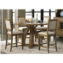 Liberty Furniture Town & Country Gathering Table with Four 8-Inch Drop Leaves