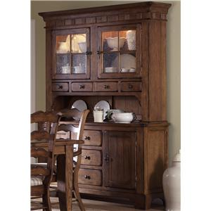 Liberty Furniture Treasures  Buffet & Hutch