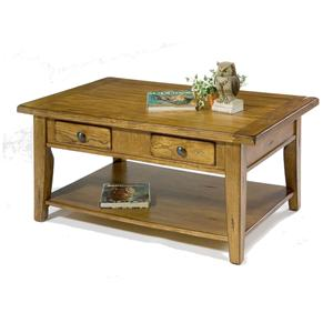 Liberty Furniture Treasures  Rectangular Cocktail Table