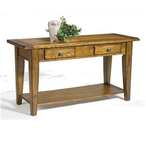Liberty Furniture Treasures  Sofa Table