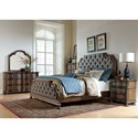 Liberty Furniture Tuscan Valley Queen Upholstered Bed