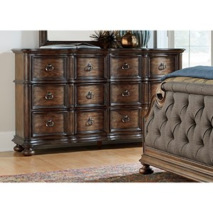 Vendor 5349 Tuscan Valley 6 Drawer Dresser