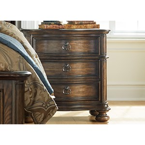 Vendor 5349 Tuscan Valley 2 Drawer Nightstand