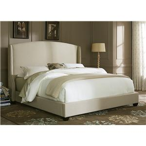 Liberty Furniture Upholstered Beds Queen Shelter Bed