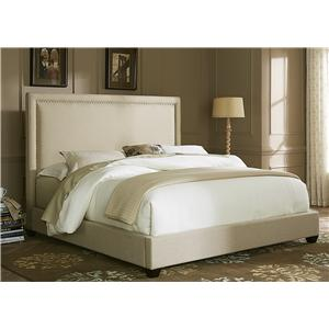 Liberty Furniture Upholstered Beds Queen Panel Bed