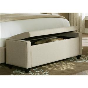 Liberty Furniture Upholstered Beds Bed Bench