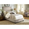 Vendor 5349 Upholstered Beds Twin Upholstered Panel Bed  - Item Number: 100-YBR-TPB