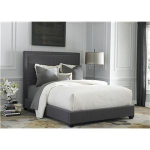 Liberty Furniture Upholstered Beds King Panel Bed