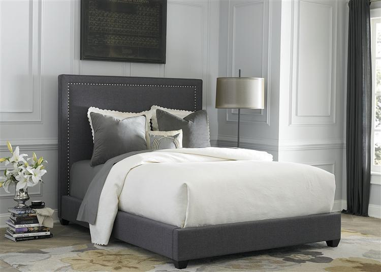 Liberty Furniture Upholstered Beds Queen Panel Bed  - Item Number: 150-BR-QPB