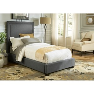 Vendor 5349 Upholstered Beds Full Upholstered Panel Bed