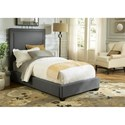 Liberty Furniture Upholstered Beds Full Upholstered Panel Bed  - Item Number: 150-YBR-FPB