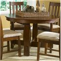 Vendor 5349 Urban Mission Leg Table & Upholstered Side Chair