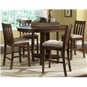 Liberty Furniture Urban Mission 5 Piece Pub Set   - Item Number: 27-CD-SET18