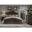 Liberty Furniture Valley Springs Queen Bedroom Group - Item Number: 822-BR-QPBDMC