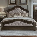 Liberty Furniture Valley Springs Queen Upholstered Bed  - Item Number: 822-BR-QUB