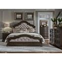 Liberty Furniture Valley Springs Queen Bedroom Group - Item Number: 822-BR-QUBDMC