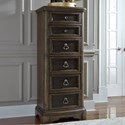 Liberty Furniture Valley Springs Lingerie Chest - Item Number: 822-BR46