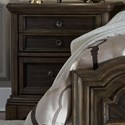 Liberty Furniture Valley Springs 2 Drawer Night Stand - Item Number: 822-BR61