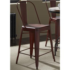Liberty Furniture Vintage Dining Series Bow Back Counter Chair