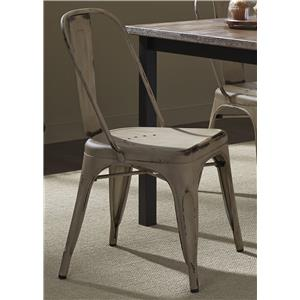 Vendor 5349 Vintage Dining Series Bow Back Dining Side Chair