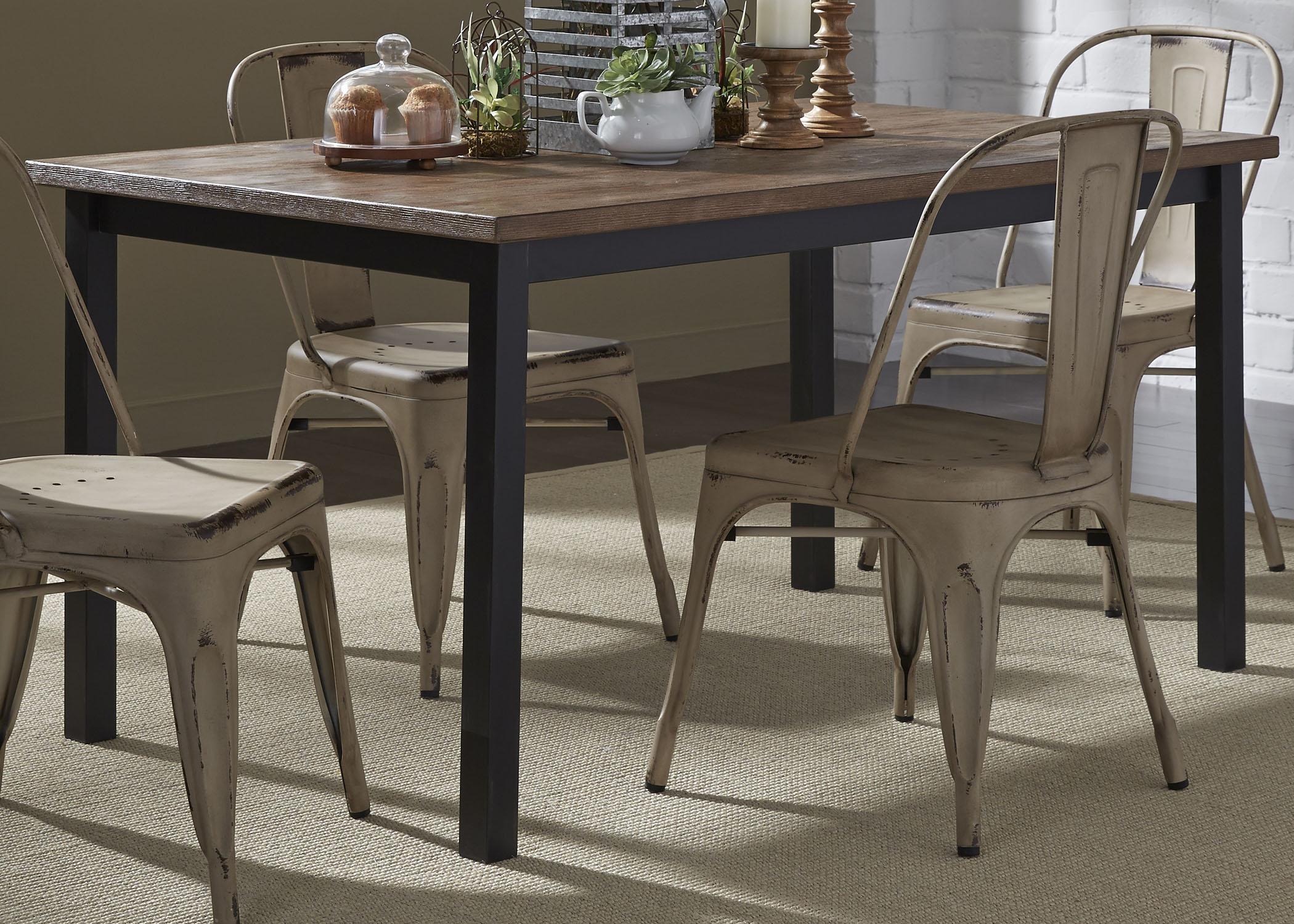 Vintage Dining Series Rectangular Leg Table By Vendor 5349 At Becker Furniture World