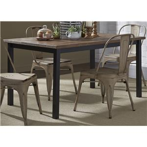 Liberty Furniture Vintage Dining Series Rectangular Leg Table