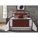 Liberty Furniture Vintage Series Twin Metal Bed - Item Number: 179-BR11HFR-R