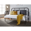 Liberty Furniture Vintage Series Twin Metal Daybed - Item Number: 179-BR11TB-B