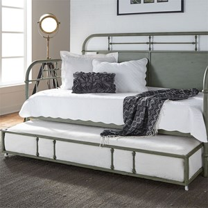 Twin Metal Daybed with Trundle
