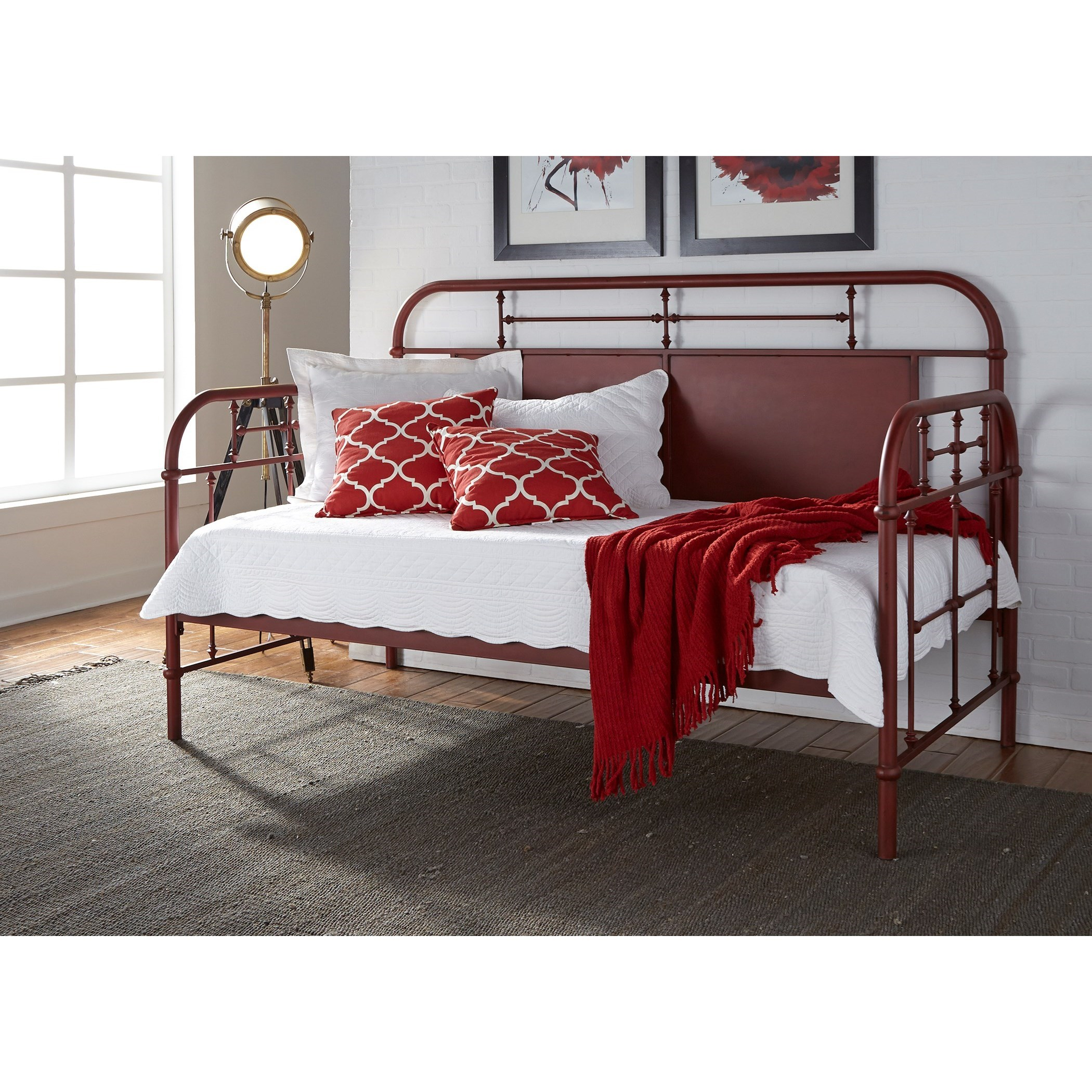 Vintage Series Twin Metal Daybed by Liberty Furniture at Bullard Furniture