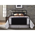 Liberty Furniture Vintage Series Queen Metal Bed - Item Number: 179-BR13HFR-B