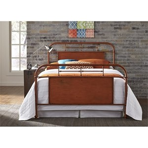 Vendor 5349 Vintage Series Queen Metal Bed