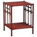 Liberty Furniture Vintage Series Open Nightstand - Item Number: 179-BR61-R