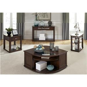 Vendor 5349 Wallace 3 Piece Occasional Table Set