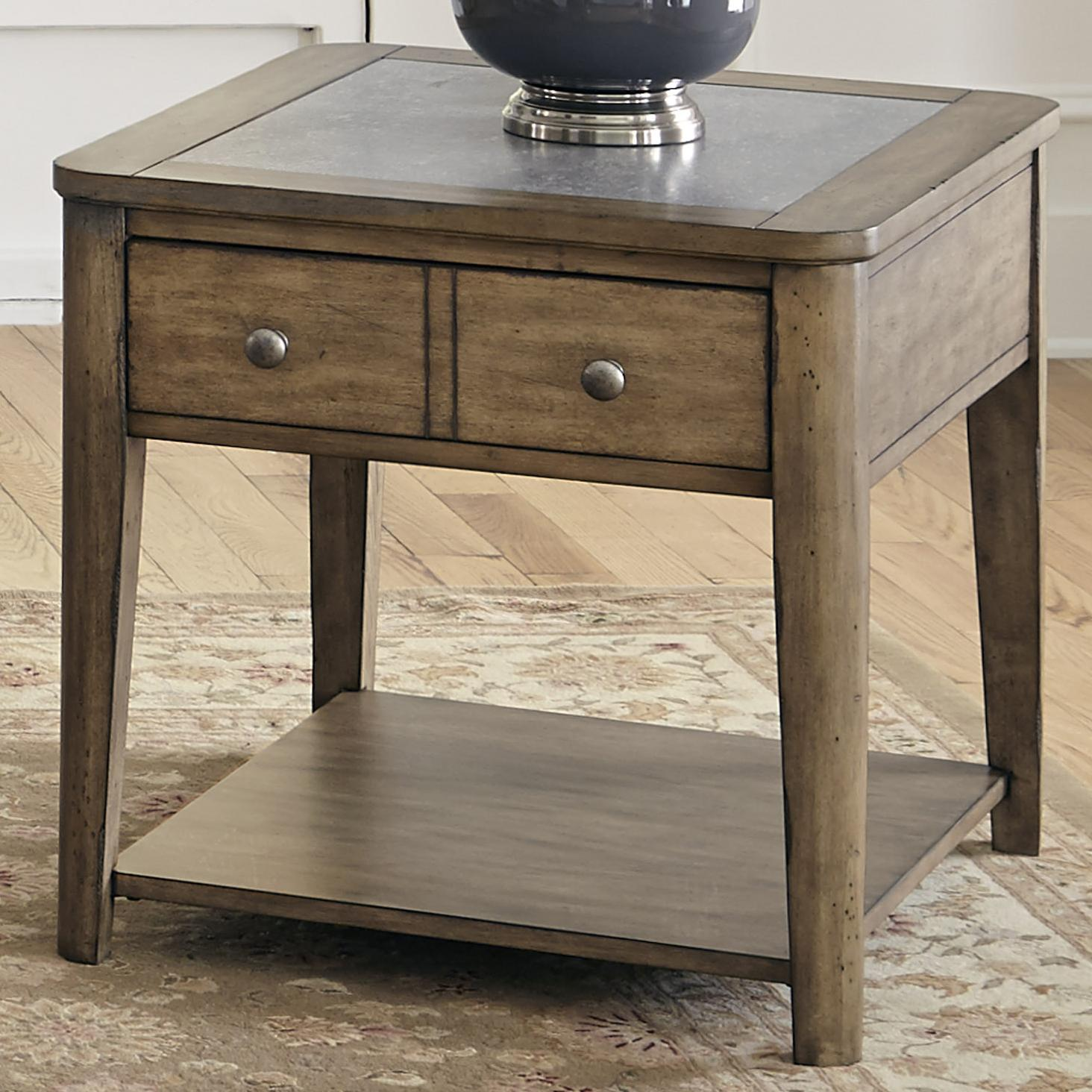 Vendor 5349 Weatherford  End Table - Item Number: 645-OT1020