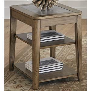 Liberty Furniture Weatherford  Chairside Table