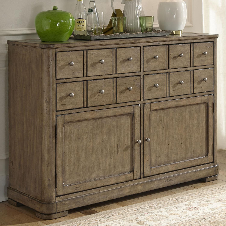 Liberty Furniture Weatherford  Server - Item Number: 645-SR5238