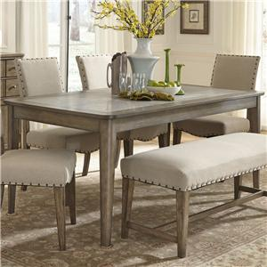Vendor 5349 Weatherford  Rectangular Leg Table