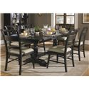 Liberty Furniture Whitney 7 Piece Trestle Table Set  - Item Number: 661-CD-SET36