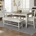 Liberty Furniture Whitney Rectangular Leg Table - Item Number: 661W-T4074
