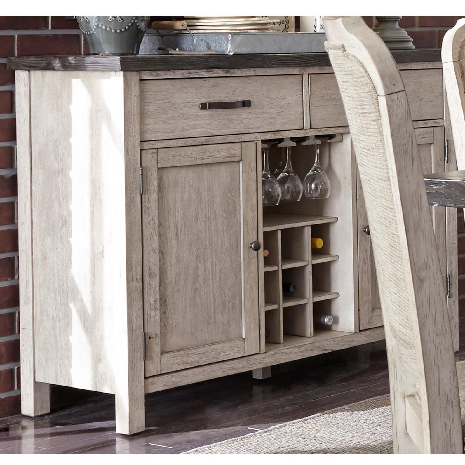 Liberty Furniture Willowrun Sideboard - Item Number: 619-SR5238