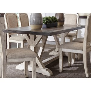 Liberty Furniture Willowrun Trestle Table